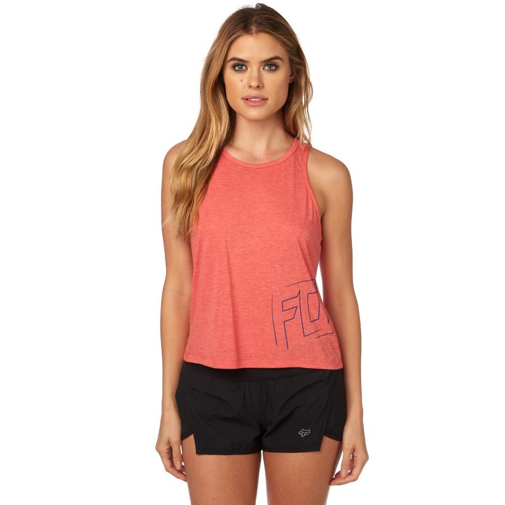 Fox Racing Stilted Womens Tank Shirts Sleeveless Crop Tops