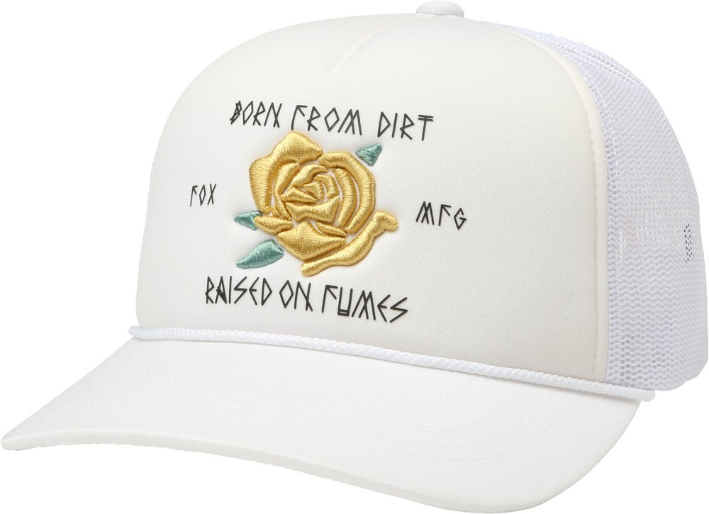 Details about Fox Racing Rosey Womens Snap Back Hat White 2ca8c84a26