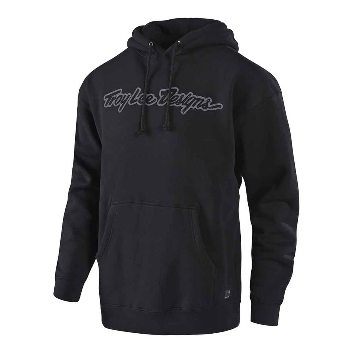 Troy Lee Designs Signature Pullover Hoody Black//Gray