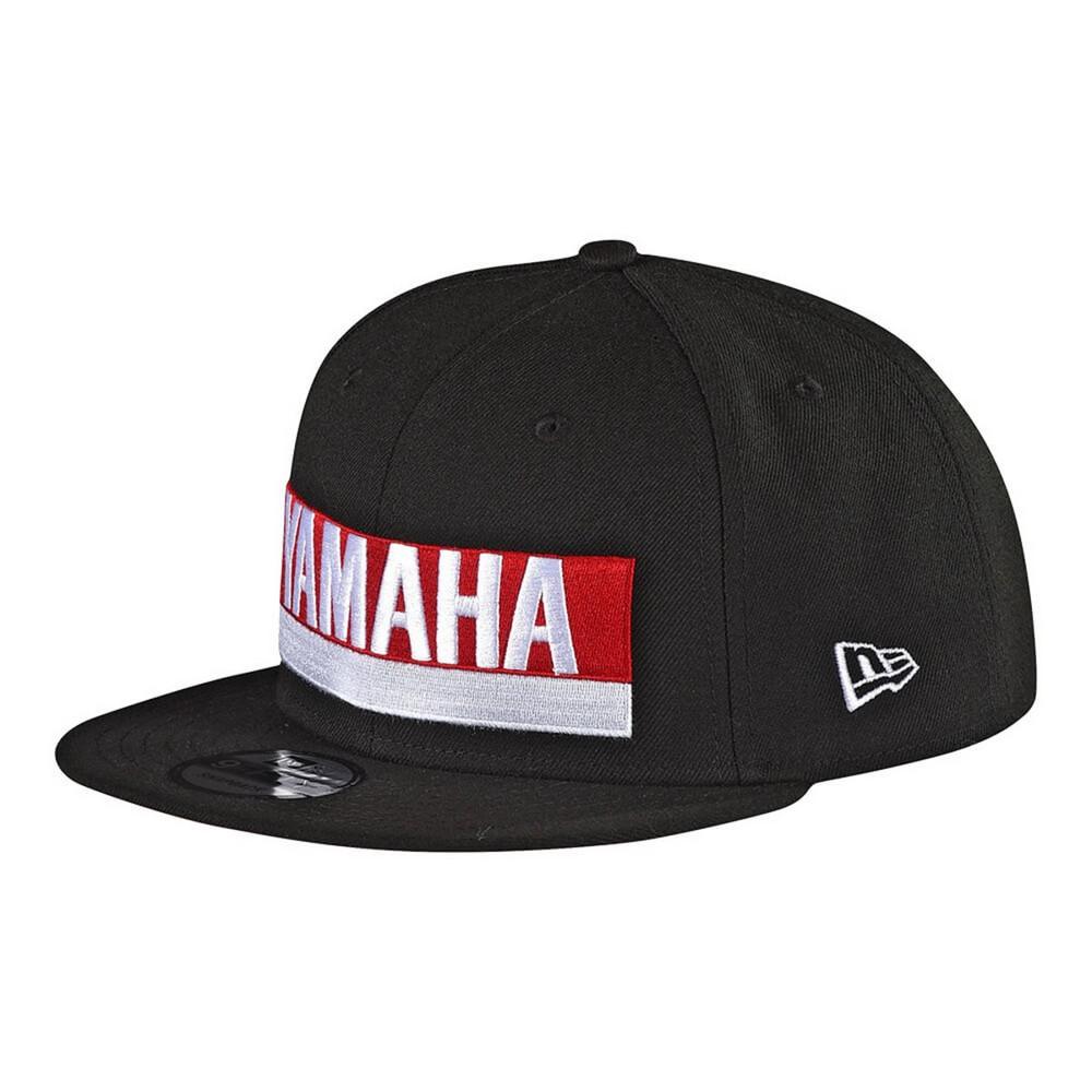 Troy Lee Designs Yamaha Factory Mens Snapback Hat Black OSFA ... f47ac4baa6aa