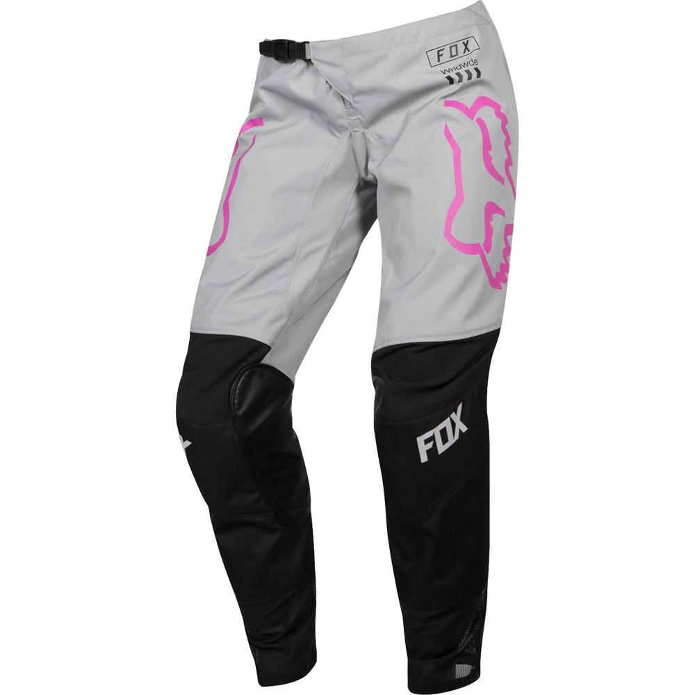 Fox Racing 180 Mata Para Mujer Mx Offroad Pantalones Negro Rosa Ebay