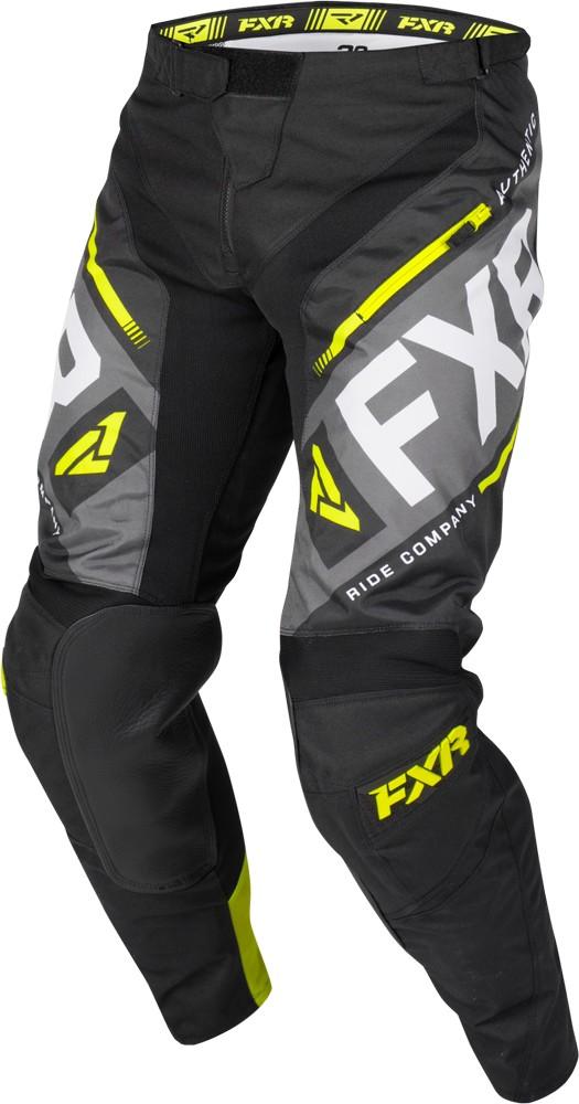 Details about FXR Clutch Offroad Division Mens Pants Black/Hi-Vis