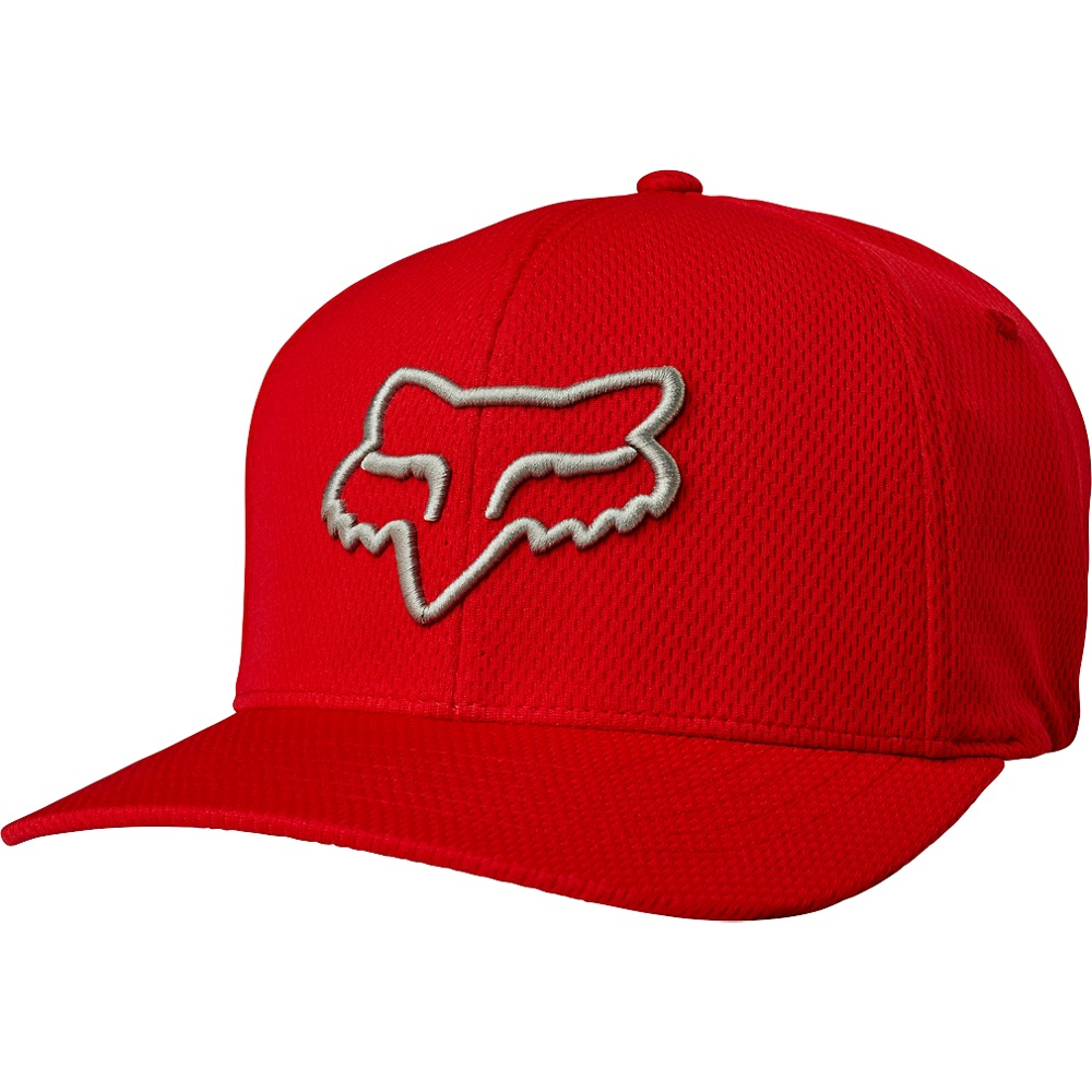 315c273f6a6fe ... germany fox racing lithotype mens flexfit hat cardinal b20c5 4b2a6