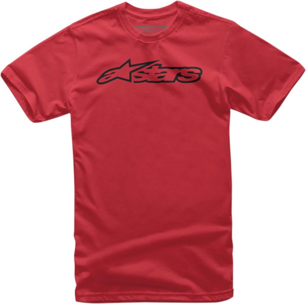 Alpinestars Blaze Short Sleeve T-Shirt in Red//Black