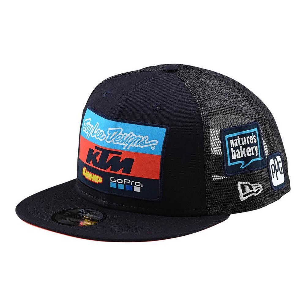 Details about Troy Lee Designs TLD KTM Team Mens Snapback Hat Navy 7b9f6d431691