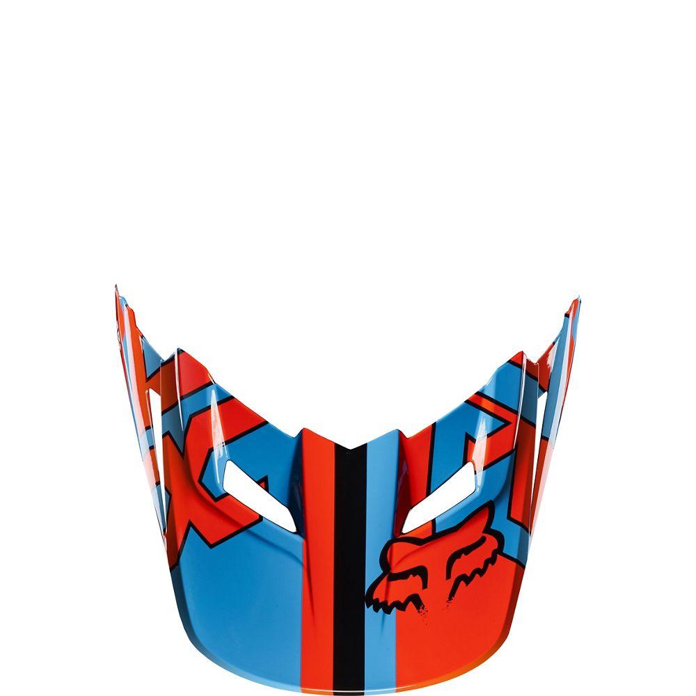 Green//Orange//No Size Fox Racing Vandal Visor Youth MX15 V1 Off-Road Motorcycle Helmet Accessories