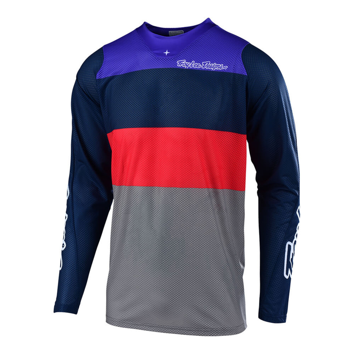White//Navy, X-Large Troy Lee Designs Mens Off-Road Motocross Motorcycle SE Air Beta Jersey