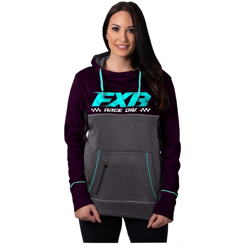 FXR Pursuit Tech Hoodie Pull Over Hooded Sweatshirt Snowmobile Casual Hoody