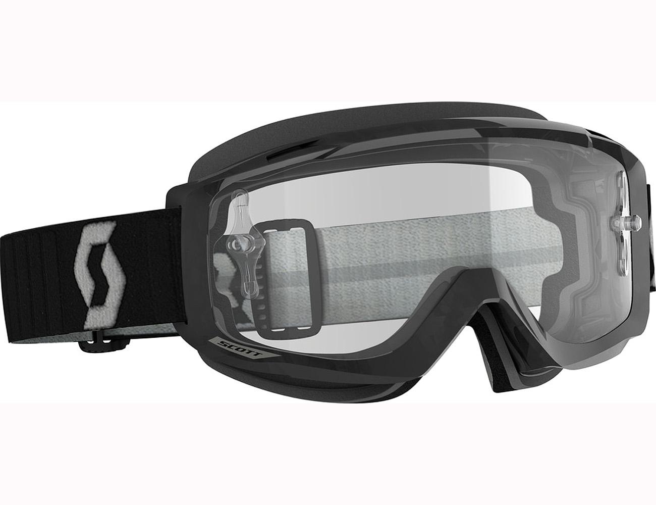 BLACK W//CLEAR LENS 268198-0001043 SCOTT SPLIT OTG SNOW GOGGLE