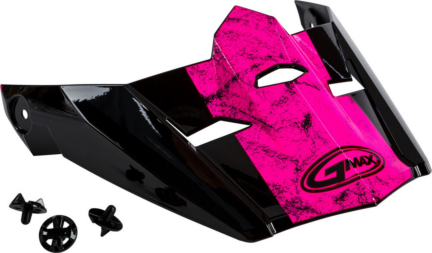 GMAX MX-46 Uncle Replacement Visor Black//Pink