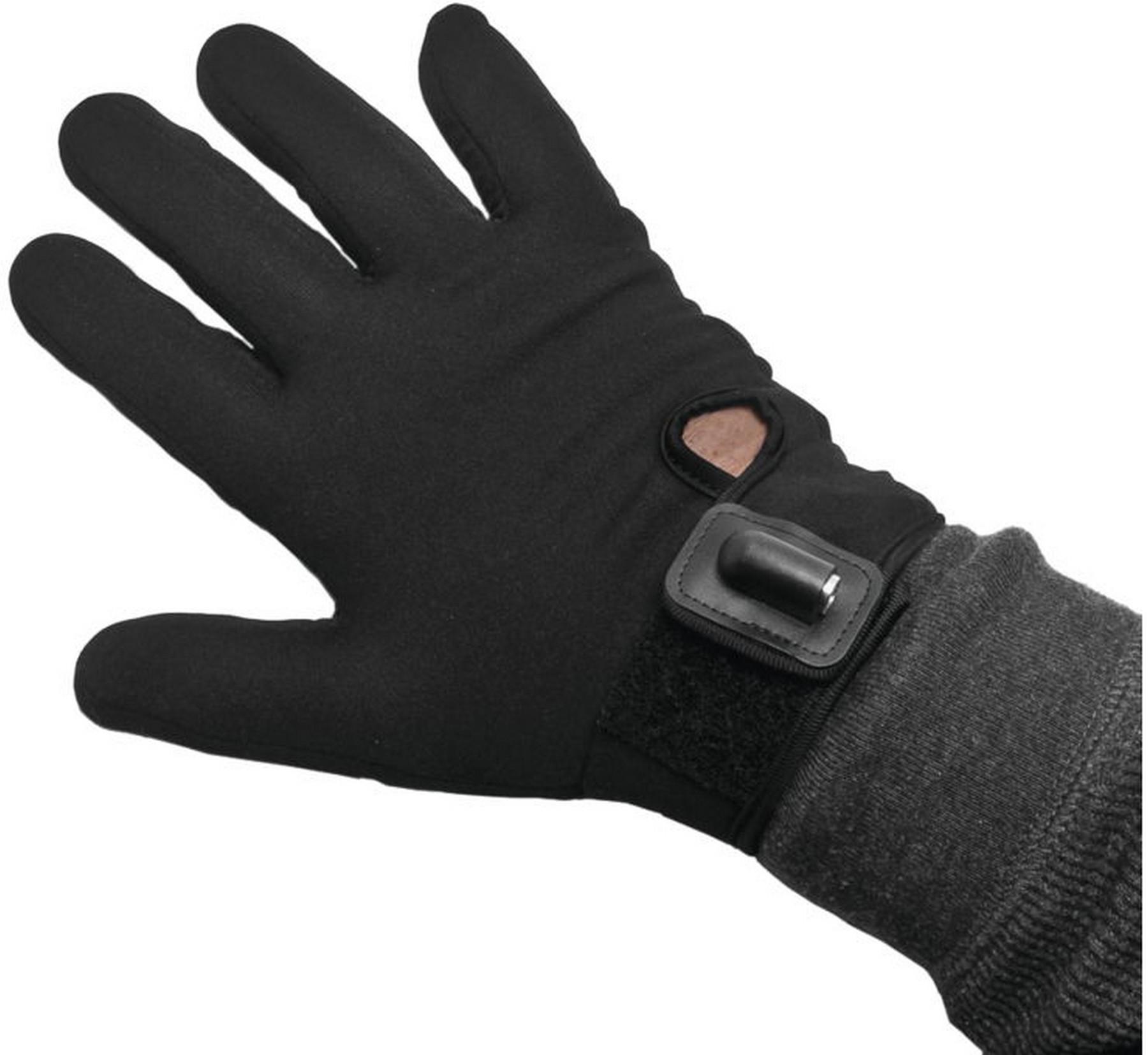 Medium//Large Tourmaster Synergy Pro-Plus Heated Glove Liners Black
