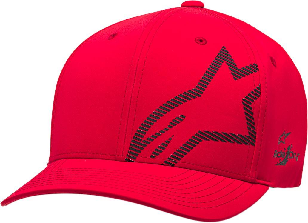 Alpinestars Corp Shift 2 Flexfit Hat Red//Black SM//MD