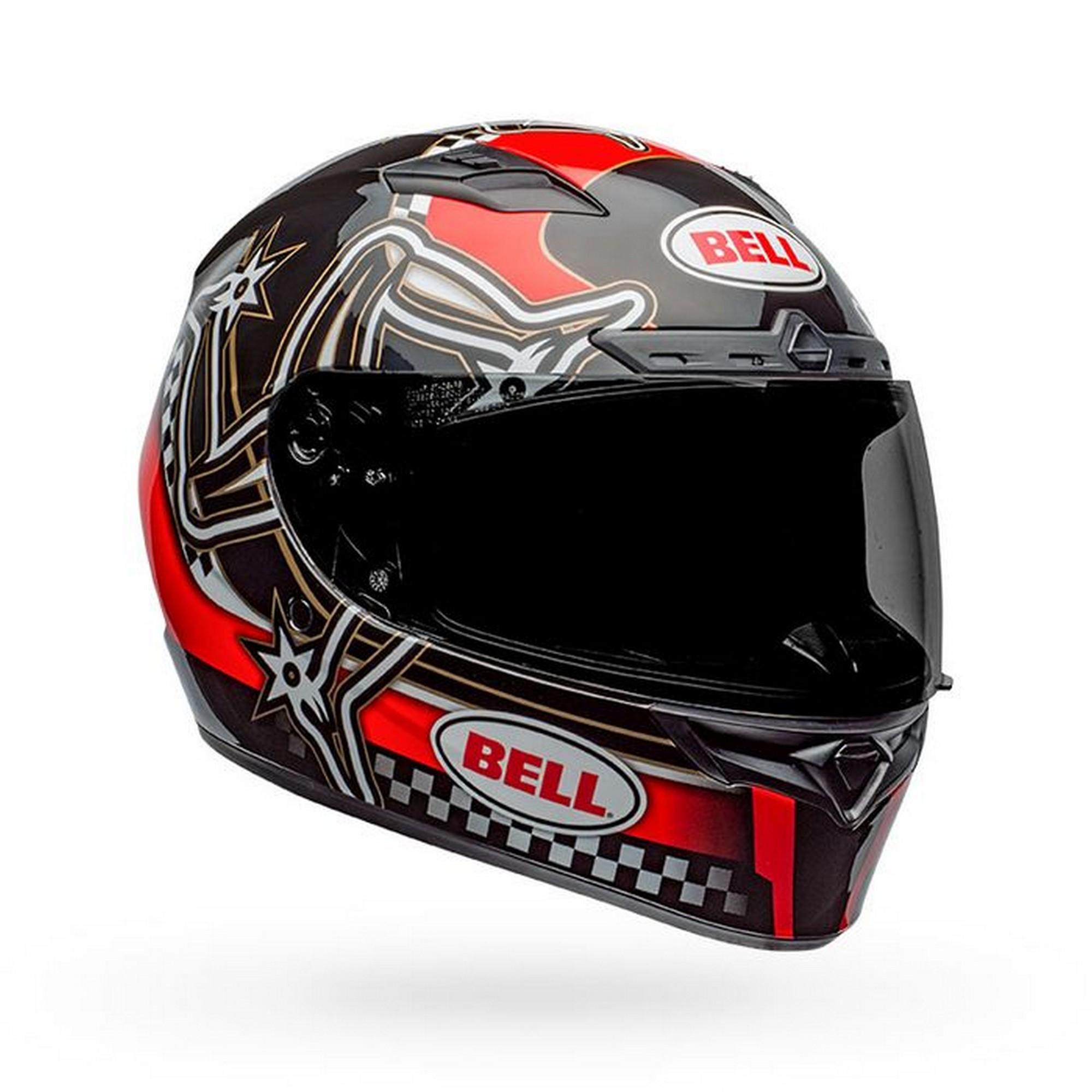 Bell Helmet qualifier dlx mips isle of man black//red xl