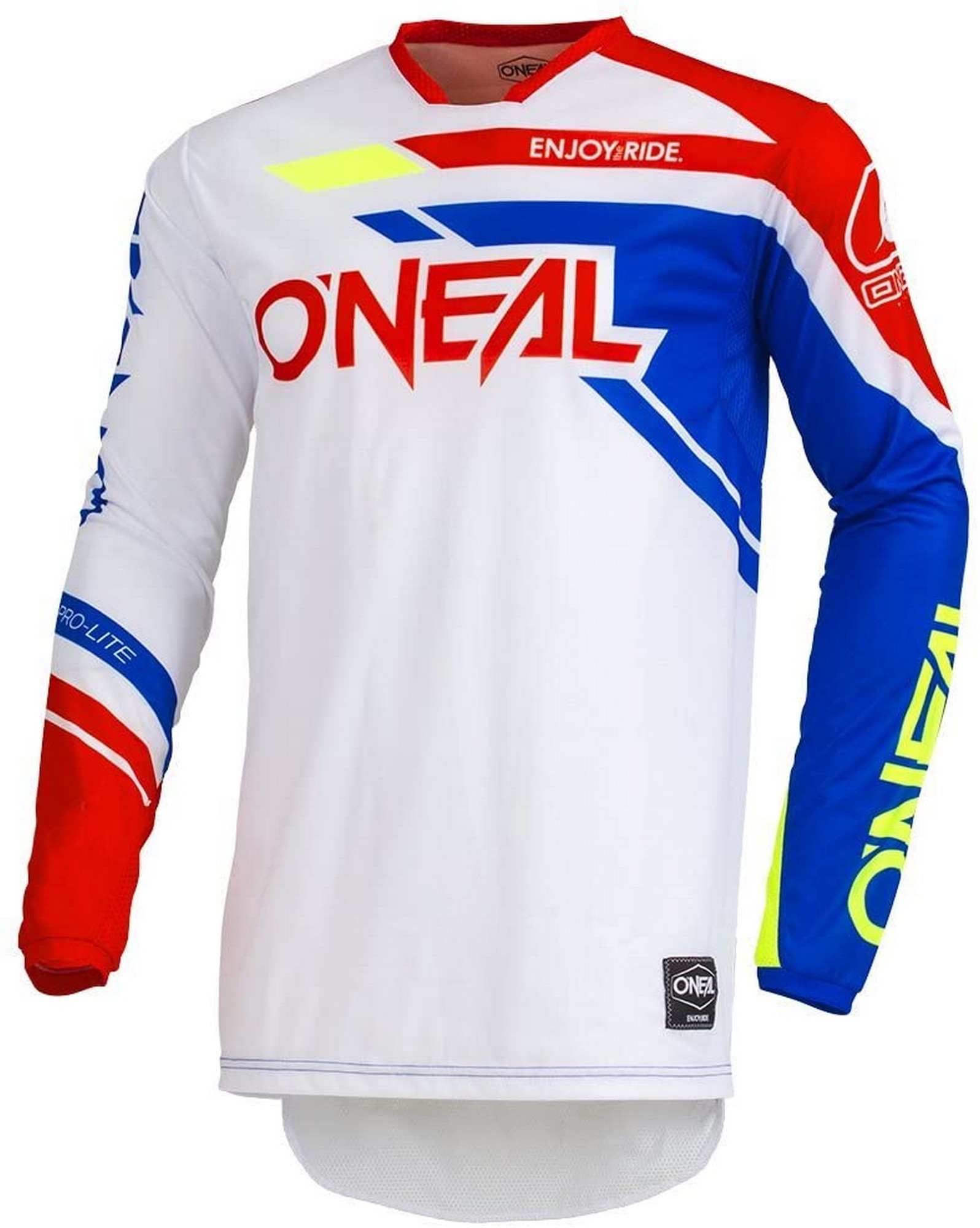 ONeal A001-104  Airwear Freez Adult Jersey Gray//Blue//Red, L