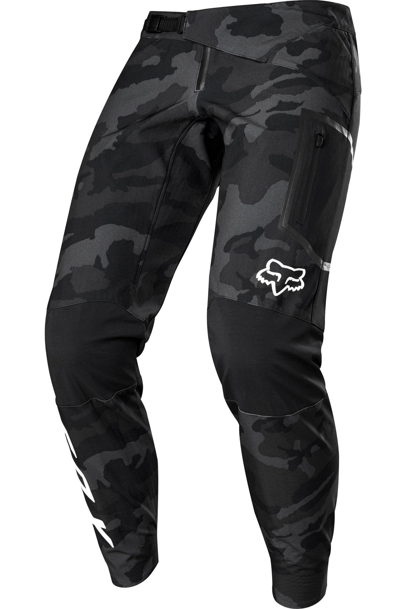 Fox Racing Defend Fire Mens Mtb Mountain Bike Pants Black Camo Ebay