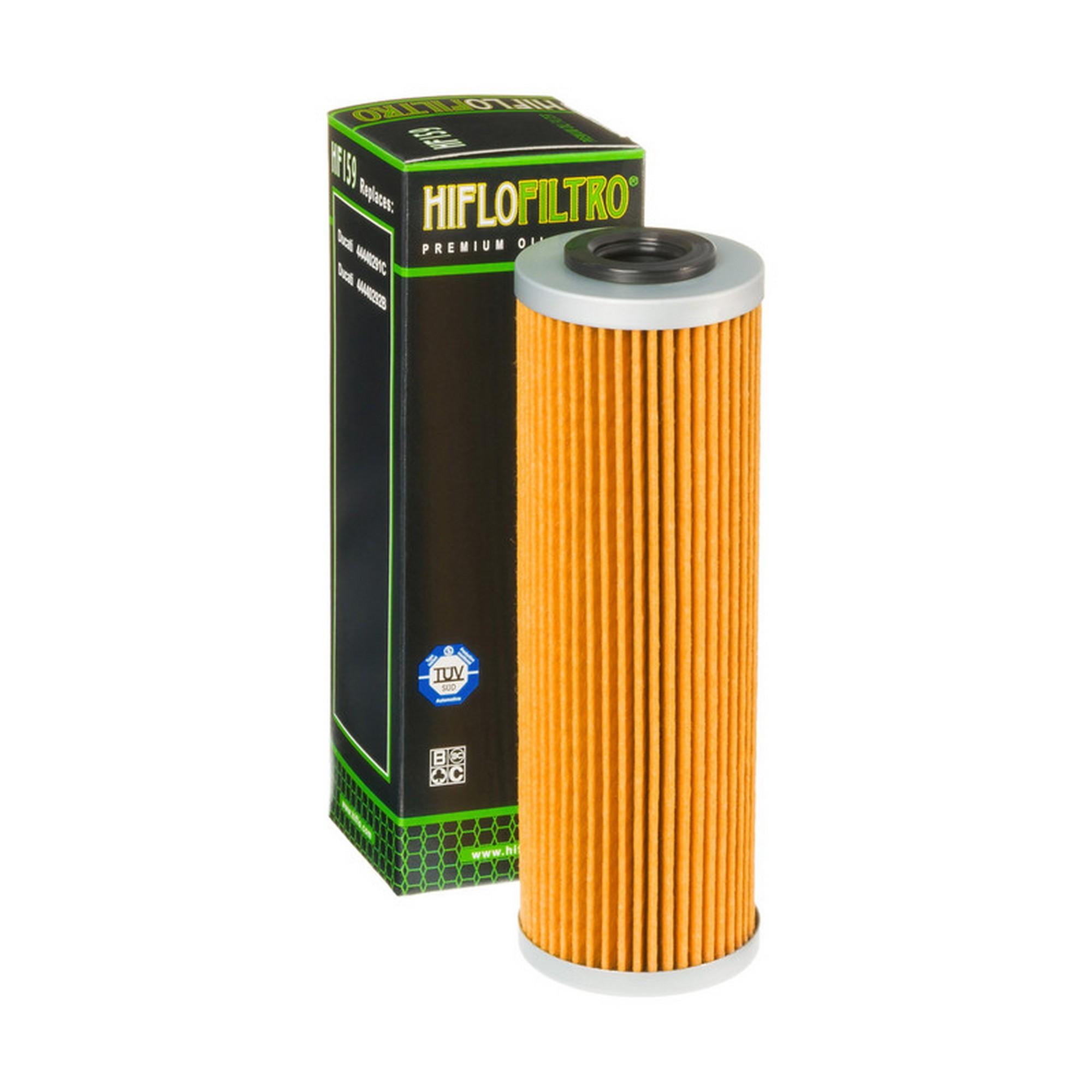 Hiflo Oil Filter HF159 Ducati 1199 Panigale R 2013-2014
