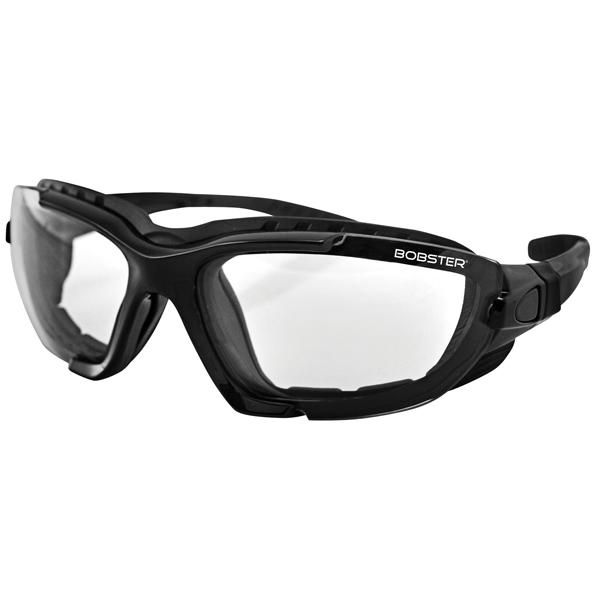 Bobster Roadmaster Photochromic Convertible Goggles//Sunglasses Black